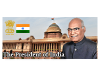 President of India | External link that open in new window